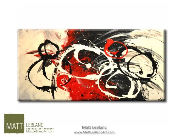 Abstract Painting by Artist Matt Leblanc