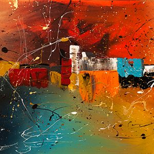 Abstract art online gallery of international abstract for Online art gallery paintings
