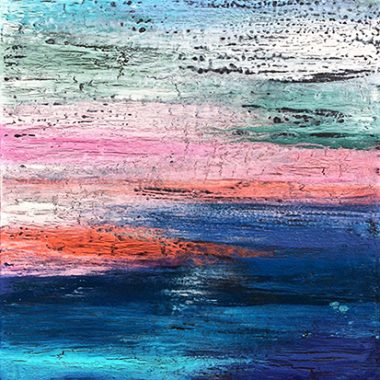 "Abstract Art Painting ""Sunday Morning"" by A. Dunn"