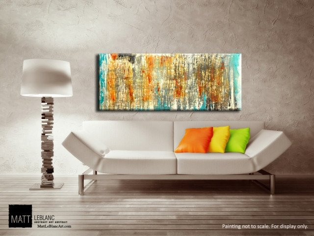 Abstract Art Painting by Matt LeBlanc