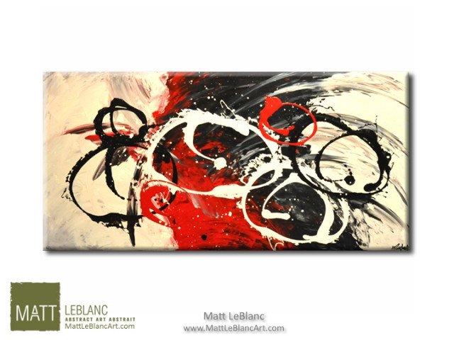 Abstract Painting by Artist Matt Leblanc