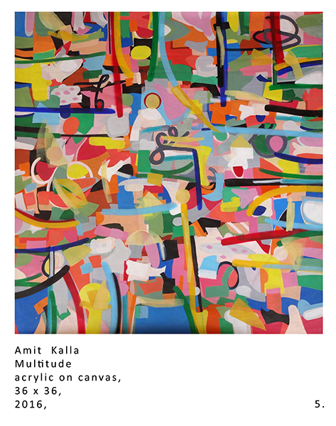 "Abstract Art ""Multitude"" by A. Kalla"