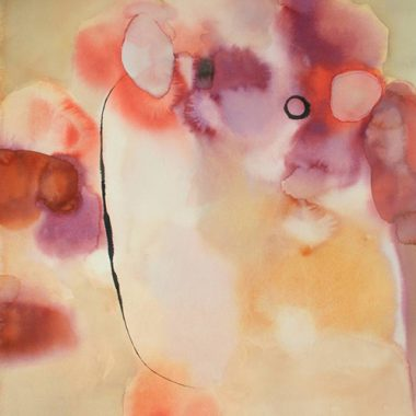 Abstract Painting - Watercolor on Paper by Marsha Boston