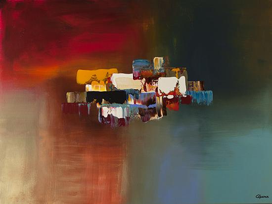 "Modern Abstract Art ""Dream"" by Carmen Guedez"