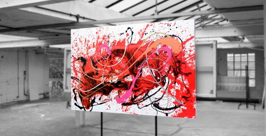 Abstract ARt Strawberry Fields by Swarez