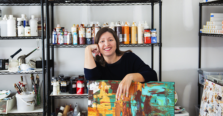Carmen Guedez Art Studio in North Carolina, US
