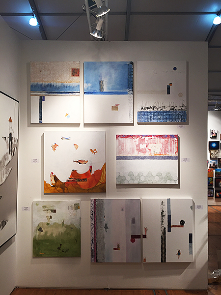 J. Pommer Exhibition At the Spectrum Miami ~ Artblend Gallery