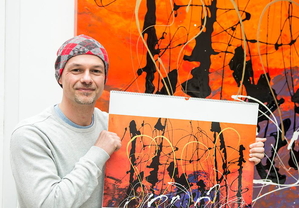 Swarez Abstract Artist from UK